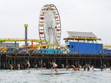 The Santa Monica Pier Paddleboard Race & Ocean Festival presented by Tommy Bahama