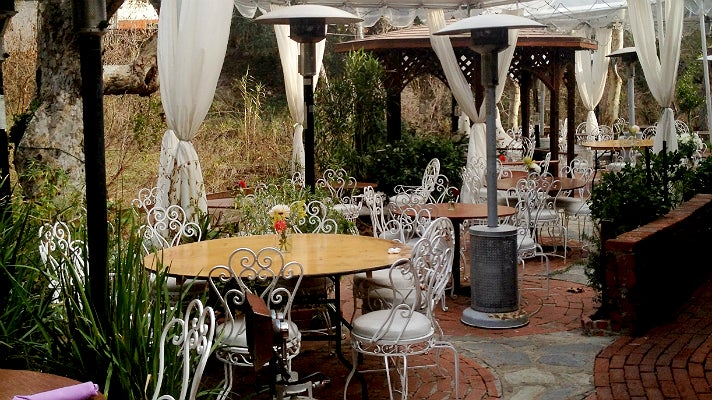 Patio at Inn of the Seventh Ray
