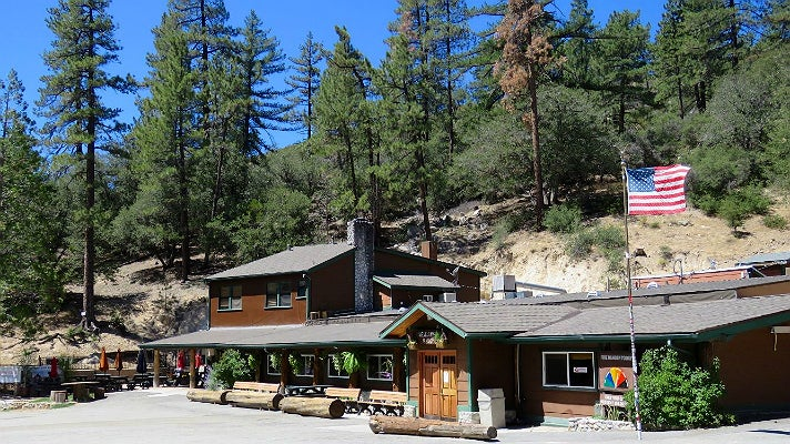 Newcomb's Ranch in the Angeles National Forest