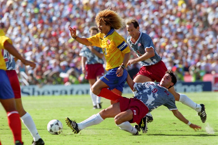 United States vs. Colombia, 1994 World Cup at Rose Bowl Stadium