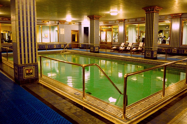 Fitness Center with Roman-style pool at Millennium Biltmore Hotel
