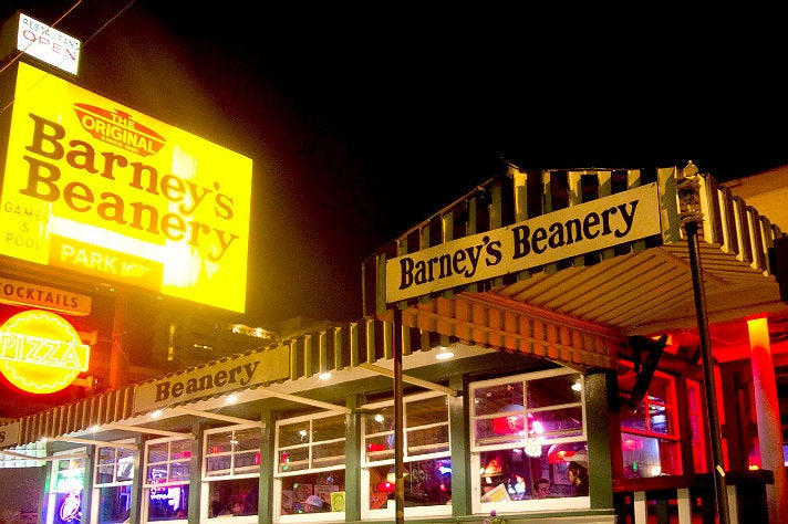 The Original Barney's Beanery in WeHo