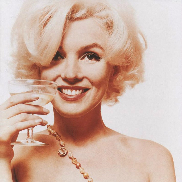 "Marilyn Monroe, ""Here's to You"" from ""The Last Sitting"""